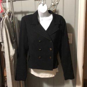 Cabi black blazer size 6